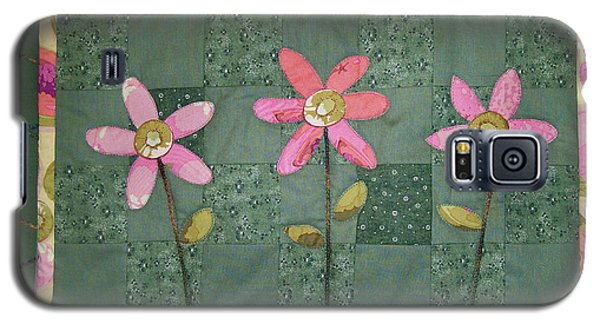 Kiwi Flowers Galaxy S5 Case