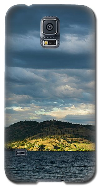 Knox Mountain At Sunset Galaxy S5 Case