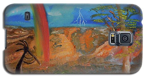 Kokopelli Calls The Storm Galaxy S5 Case