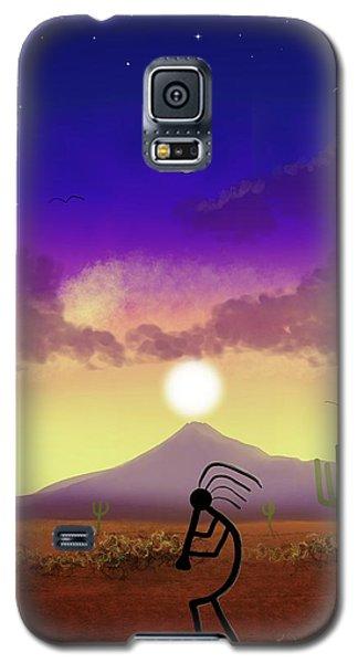 Kokopelli Dream World Galaxy S5 Case