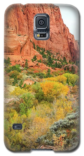 Kolob Canyon 2, Zion National Park Galaxy S5 Case