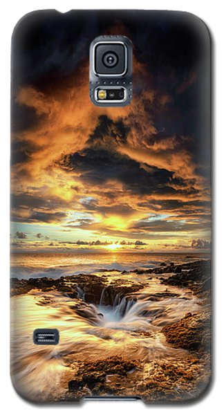 Kona Sunset Galaxy S5 Case