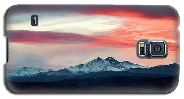 Ladies In The Sky Winter Sunset Galaxy S5 Case