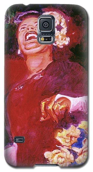 Lady Day - Billie Holliday Galaxy S5 Case