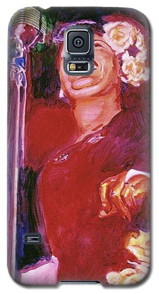 Lady Day - Billie Holliday Galaxy S5 Case