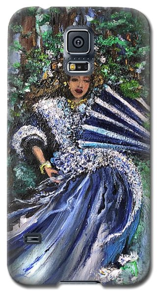 Lady In Forest Galaxy S5 Case