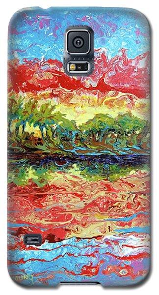 Lagoon Sunset Galaxy S5 Case