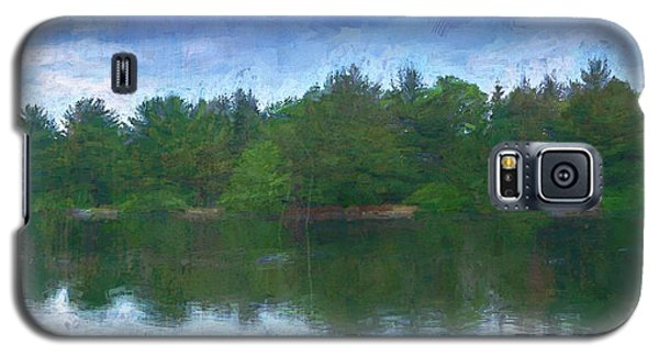 Lake And Trees Galaxy S5 Case