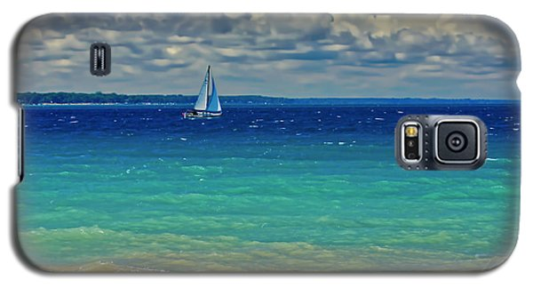 Lake Huron Sailboat Galaxy S5 Case
