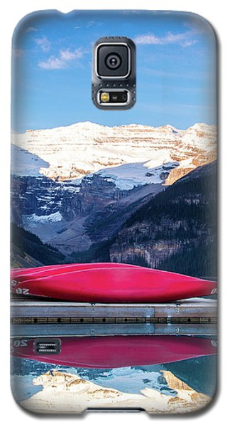Lake Louise Canoes Galaxy S5 Case