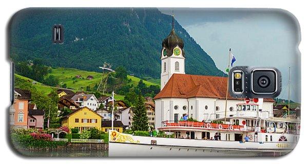 Lake Lucerne Steamer Galaxy S5 Case