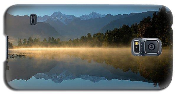 Lake Matheson Morning Galaxy S5 Case