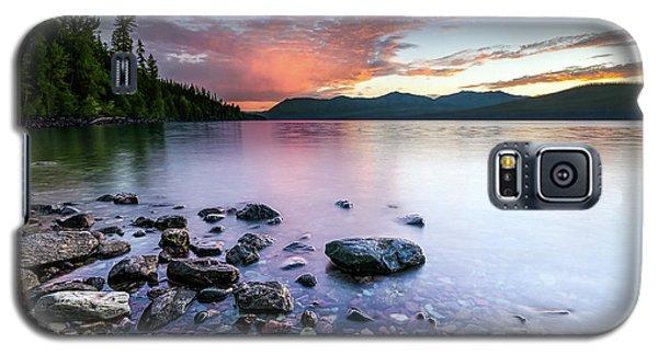 Lake Mcdonald Sunset Galaxy S5 Case