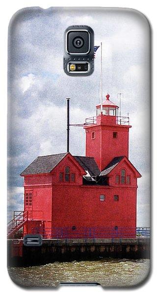 Lake Michigan Light House Galaxy S5 Case