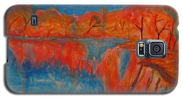 Lake Mirror Galaxy S5 Case