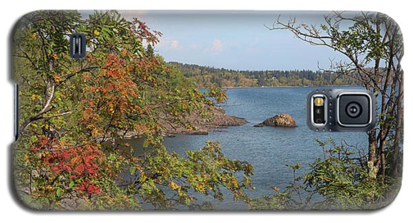 Lake Superior Autumn Galaxy S5 Case