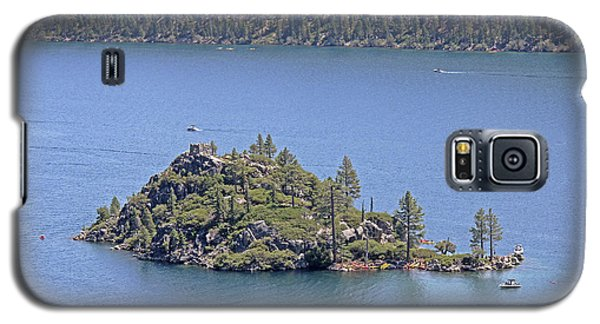 Lake Tahoe - Fannette Island Galaxy S5 Case