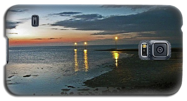 Lancashire. Knott End. Sunset.. Galaxy S5 Case