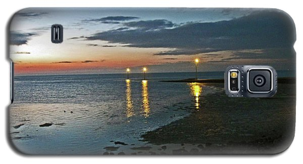 Lancashire. Knott End. Sunset.. Galaxy S5 Case