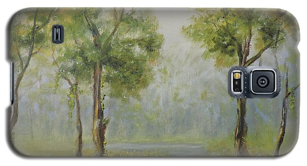 Landscape Of The Great Swamp Of New Jersey With Pond Galaxy S5 Case