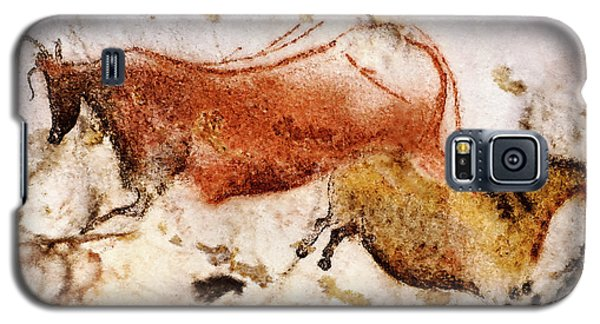 Lascaux Cow And Horse Galaxy S5 Case