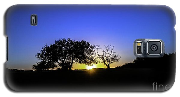 Last Light Texas Hill Country Paradise Canyon Sunset 8053a Galaxy S5 Case