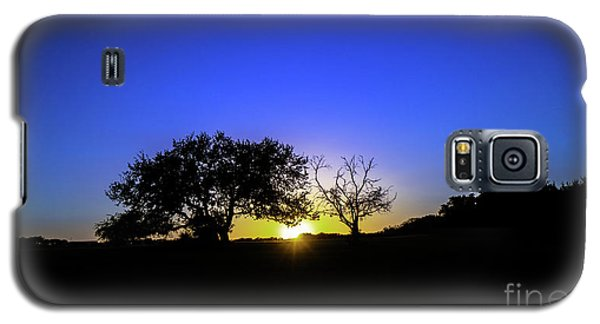 Last Light Texas Hill Country Paradise Canyon Sunset 8053a1 Galaxy S5 Case