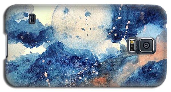 Last Nights Magic Moon Galaxy S5 Case