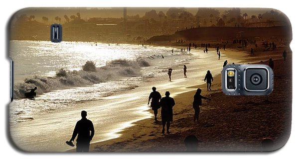 Galaxy S5 Case featuring the photograph Late Afternoon Stroll by Quality HDR Photography