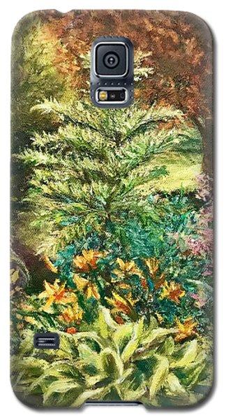 Late Summer Garden Galaxy S5 Case