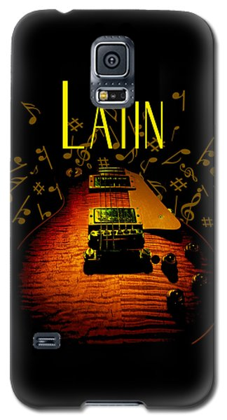 Latin Guitar Music Notes Galaxy S5 Case