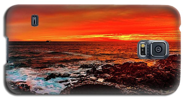 Lava Bath After Sunset Galaxy S5 Case