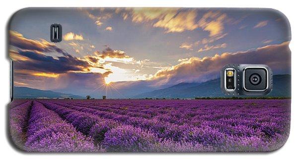 Lavender Sun Galaxy S5 Case