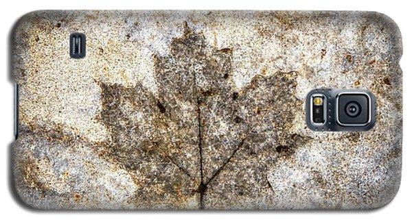 Leaf Imprint Galaxy S5 Case