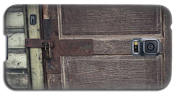 Leather Door Galaxy S5 Case