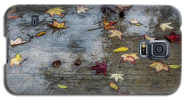 Leaves In The Rain Galaxy S5 Case