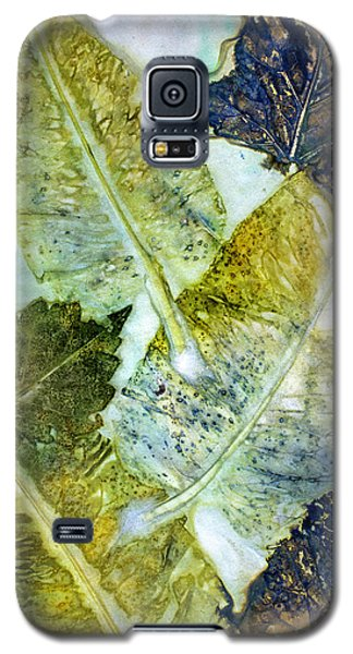 Leaves Of Nature Eco Dyed Print Galaxy S5 Case
