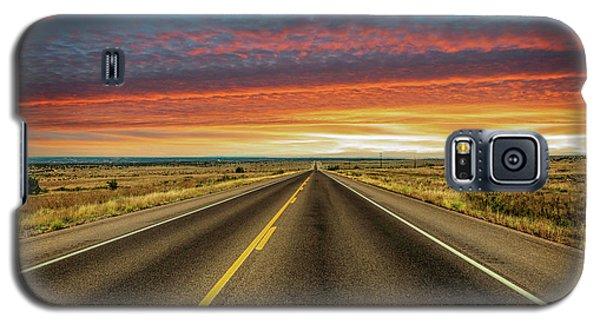 Leaving Lubbock Vanishing Point Galaxy S5 Case