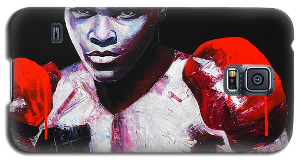 Boxing Muhammad Ali Galaxy S5 Case - Legend by Angie Wright