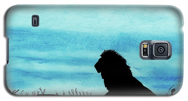 Leo At Sunset Galaxy S5 Case