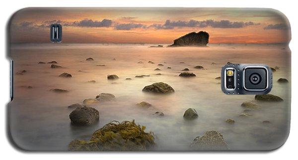 Malibu Sunset Galaxy S5 Case