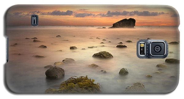 Malibu Sunset Galaxy S5 Case