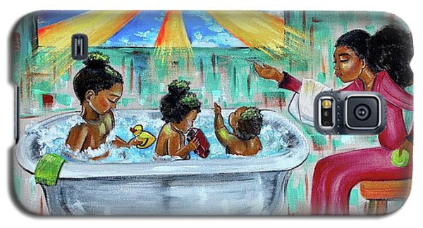 Galaxy S5 Case - Lessons From Mommy by Artist RiA