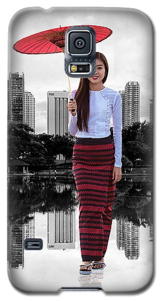 Let The City Be Your Stage Galaxy S5 Case