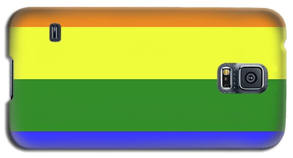 Lgbt 6 Color Rainbow Flag Galaxy S5 Case