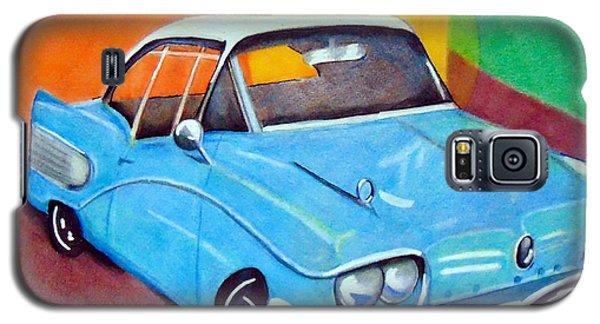Light Blue 1950s Car  Galaxy S5 Case