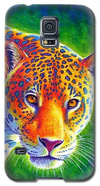 Light In The Rainforest - Jaguar Galaxy S5 Case