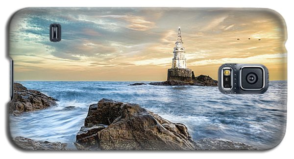 Lighthouse In Ahtopol, Bulgaria Galaxy S5 Case