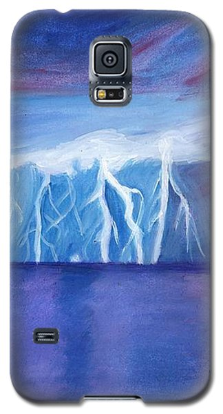 Lightning On The Sea At Night Galaxy S5 Case