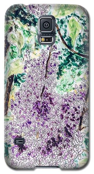 Lilac Dreams Galaxy S5 Case